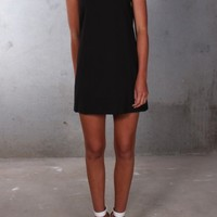 Hallie May Dress Black - Womens