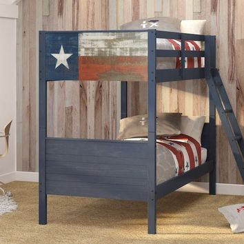 Texan Twin over Twin Bunk Bed