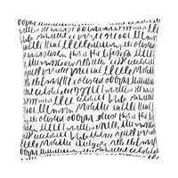 Kate Spade Cotton This Is The Life Decorative Pillow White Black ONE
