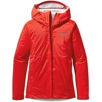 Patagonia Women's Torrentshell Jacket, Red