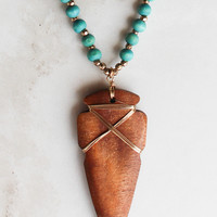 Sonora Necklace in Teal