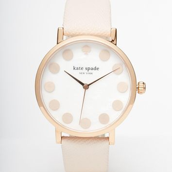Kate Spade Metro Dot Tan Watch