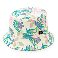 Vans Caytie Cream Floral Reversible Bucket Hat