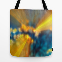 Strength and Love - bokeh Tote Bag by Cindy White Photo Art
