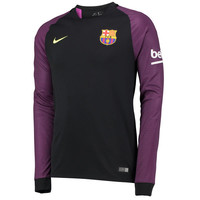 Barcelona 2016/17 Home Men Goalkeeper Long Sleeve Soccer Jersey Personalized Name and Number