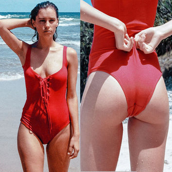 New Sexy Women Cross women swimsuit One-Piece Suits Bandage Monokini Swimsuit Bathing Swimwear Plus Size S-XL