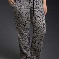 Skull Splatter Sleep Pants