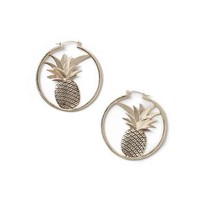 Pineapple Hoop Earrings - New In This Week - New In