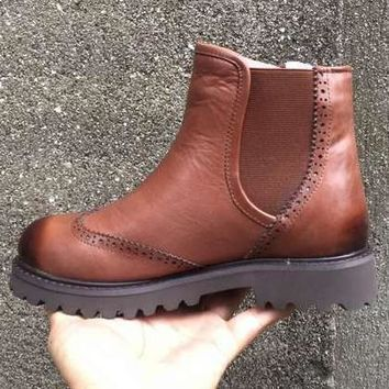 UGG Women Leather Winter Short Boots Shoes