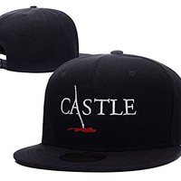 ZZZB Castle Tv Show Logo Adjustable Snapback Hat Embroidery Cap