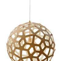 Coral Pendant - Colours - Extra Extra Large Lime by Holloways of Ludlow