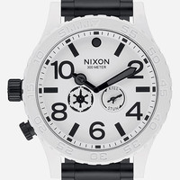Star Wars X Nixon Stormtrooper 51-30 Watch Black/White One Size For Men 26633212501