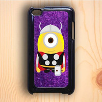 Dream colorful Thor Minion The Avengers Purple Art iPod Touch 4th Generation Case