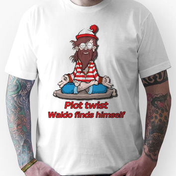 Plot Twist - Waldo Finds Himself  Unisex T-Shirt
