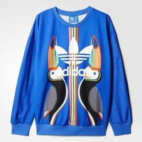Adidas Women's Farm Tukana Trefoil Sweatshirt Size Medium FREE SHIPPING AJ8146