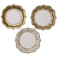 Party Porcelain Plates Medium