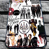 Fall Out Boy My Chemical Romance Panic! At the Disco for iPhone 4/4s, iPhone 5/5S/5C/6, Samsung S3/S4/S5 Unique Case *76*