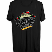 Habba Hutt Pizza Star Wars Men T Shirts