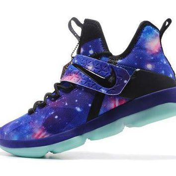Nike Lebron 14 Xiv 'galaxy' Basketball Shoe