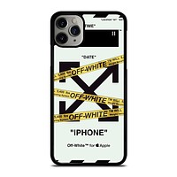OFF WHITE ICON iPhone 11 Pro Max Case