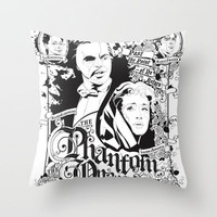 the Phantom of the Opera Throw Pillow by Fedi