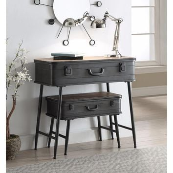 Urban Loft Metal 2 Trunk Tables -4DC Concepts