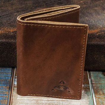 6-Slot Trifold Wallet - The Stanza (Horween Cavalier Leather)