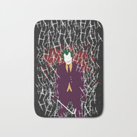 The Joker Bath Mat by Diego Souza