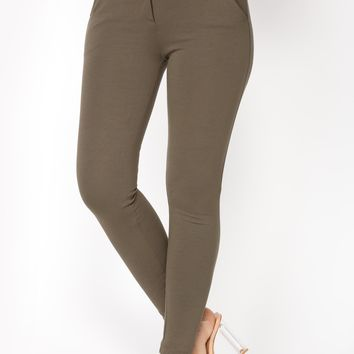 Too Easy Pants - Olive