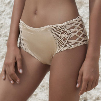 Desert Waves Hot Pants