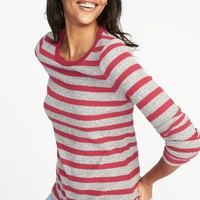 Slim-Fit Luxe Rib-Knit Top for Women | Old Navy