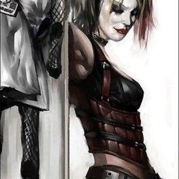 "Harley Quinn Solo DC Comics Wall Poster Picture Art Print 22""x34"" LICENSED NEW"