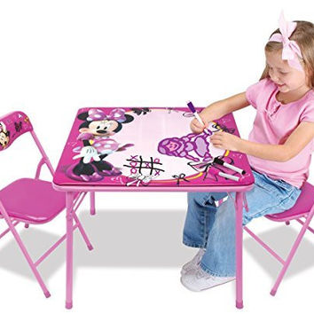 Minnie Activity Table Set with 3 Dry-Erase Markers
