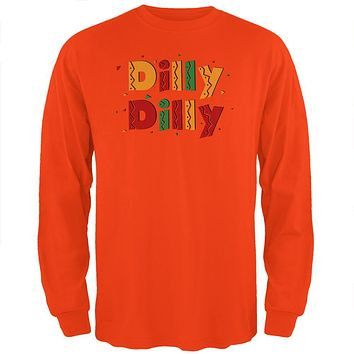 Cinco De Mayo Dilly Dilly Fiesta Mexican Party Mens Long Sleeve T Shirt