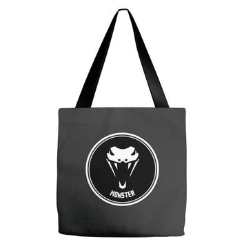 MONSTER SNAKES Tote Bags