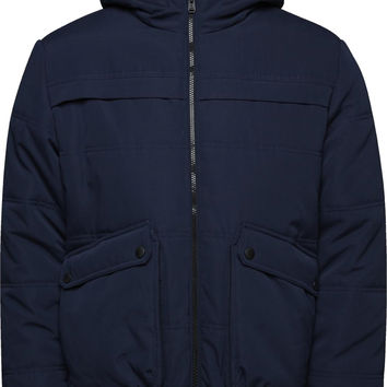 Jack & Jones Nordic Hooded Padded Bomber Jacket