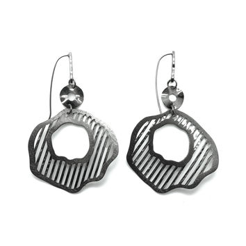 Composition in Graphics, Earrings