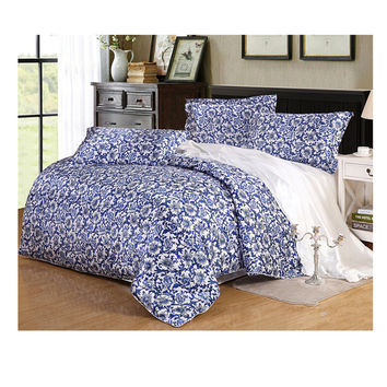 Silk King Queen Double Size Silk Duvet Quilt Cover Sets Bedding Cover Set 2.0M/2.2M Bed 08