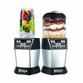 Ninja Nutri Ninja Nutri Bowl DUO with Auto-iQ Boost Drink & Meal Kitchen Blender - Walmart.com