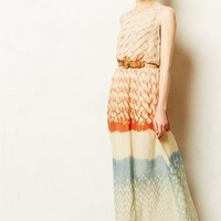 Sunfade Maxi Dress by Pure Nature Red Motif