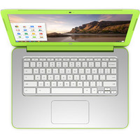 "Walmart: HP 14"" 14-x015wm Chromebook PC with NVIDIA Tegra K1 Mobile Processor, 2GB Memory, 16GB eMMC and Chrome OS, White/Green"