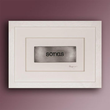 Framed SONAS (Happiness) Plaque