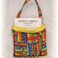 Ready-to-Go Coloring Tote WITH Book and Crayons - Bright Books