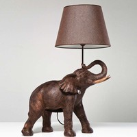 NEW! Elephant Lamp