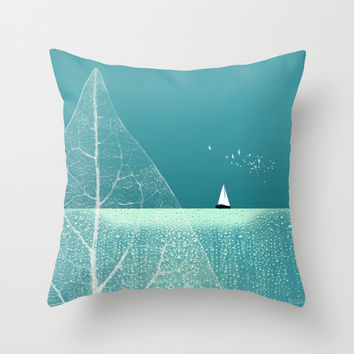 Ocean Wonderland II Throw Pillow by Pia Schneider [atelier COLOUR-VISION]