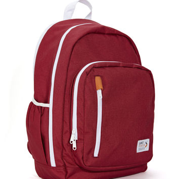 Piko Backpack Red With White Accent