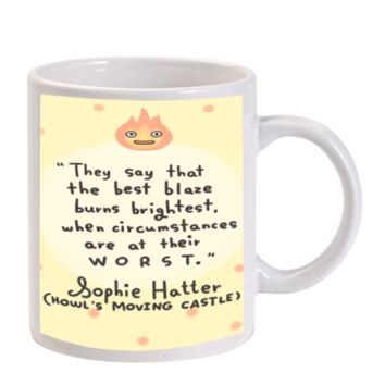 Gift Mugs | Howl's Moving Castle Ceramic Coffee Mugs