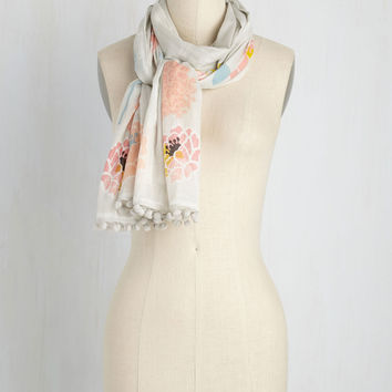 Bloom or Bust Scarf | Mod Retro Vintage Scarves | ModCloth.com
