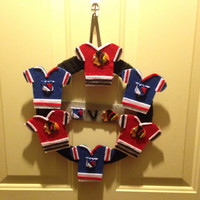 NHL Rivals Jersey Wreath *GIFTS for HIM*