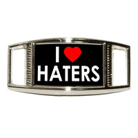I Love Heart Haters Shoe Charm - No. 1